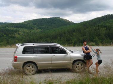 Путешествие на Горный Алтай с небольшой долей экстрима на Toyota Kluger V