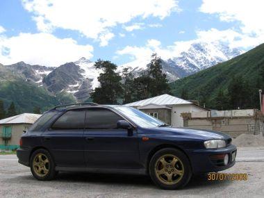 Путешествие в Абхазию и на Эльбрус на двух Subaru Impreza и Toyota Carina ED