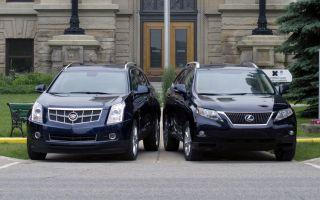 Плохенький, но резвый Cadillac SRX побеждает качественного, но ленивого  Lexus RX 350. Правы ли выборщики?