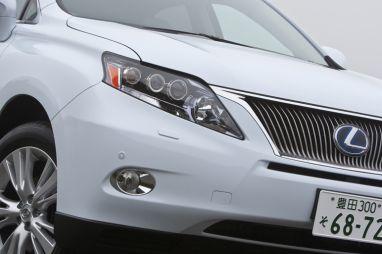 Отчёт о тест-драйве Lexus RX450h в Японии