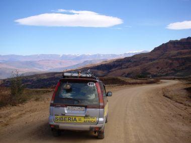 Автокругосветка из Сибири в Южно-Африканскую Республику на Toyota Town Ace Noah
