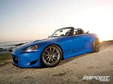 Тюнинг Honda S2000. Синий мираж
