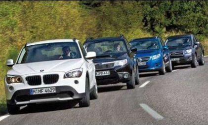 BMW X1, Subaru Forester, Toyota RAV4, VW Tiguan. Четыре компактных дизельных SUVa в сравнении