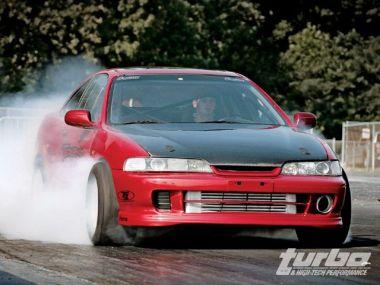 Тюнинг Acura Integra от Tempest Racing для драг-рейсинга. Эндшпиль