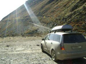 Путешествие на Южный берег Телецкого озера на Mitsubishi Grandis