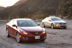 Сравнительный тест: Mazda6 против VolkswagenCC