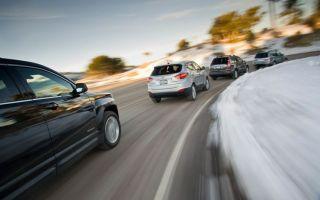 Сравниваем GMC Terrain, Honda CR-V, Hyundai Tucson и Subaru Forester. Форег, садись, два!