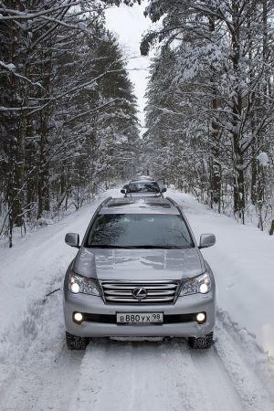 Тест нового Lexus GX460 в снежном Санкт-Петербурге от Drom.ru