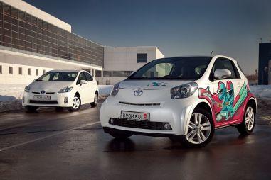 Обзор Toyota Prius и Toyota iQ от Drom.ru. Разные способы экономить