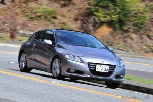 Тест-драйв компактного гибрида Honda CR-Z. Спорт-кар или нет?