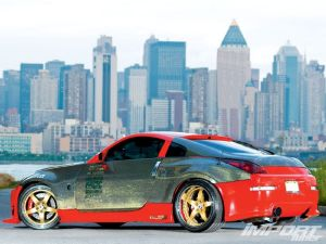 Тюнинг Nissan 350Z. Спортсмен и красавец