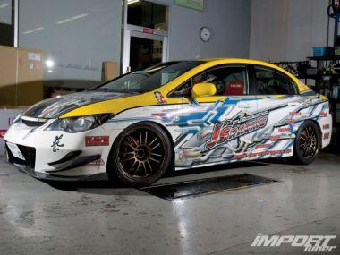 Тюнинг Honda Civic TypeR 2006. Развлечение для избранных