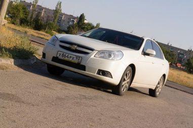 Из Краснодара в Кемерово на Chevrolet Epica