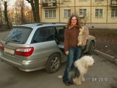Из Санкт-Петербурга в Белоруссию в апреле 2010 на Mazda Capella Wagon