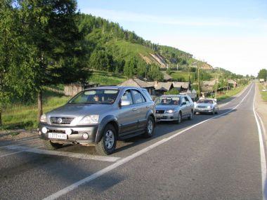 Поездка Красноярск — Аршан — Гремячинск — Баргузинский залив — «Тёплые озёра» — Слюдянка на Nissan Expert и Kia Sorento