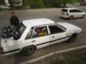 Перегон Владивосток — Томск на Nissan Laurel 1986 года