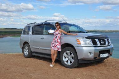 Турне по Башкирии на Nissan Armada