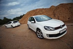 Кто на новенького? Mazda3MPS против Volkswagen GolfGTI