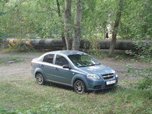 Поездка из Заринска в Омск на Chevrolet Aveo глазами маленького автолюбителя