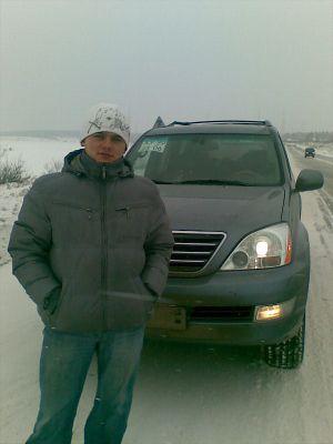 Перегон Subaru Outback по маршруту Москва — Барнаул в январе 2009 г.