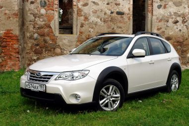 Тест нового кроссовера Subaru ImprezaXV от Drom.ru