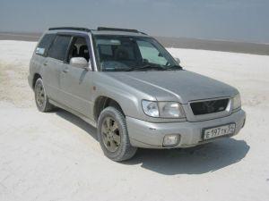 На Subaru Forester из Новосибирска на Мангышлак: лето, жара, скорпионы!