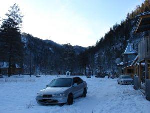 Поездка на Горный Алтай зимой 2007 года на Toyota Sprinter