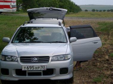 В Абхазию в июне 2010 года на Nissan Avenir и Газ-3110