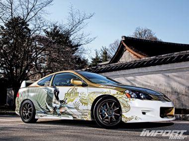 Тюнинг Acura RSX Type S. Коннитива