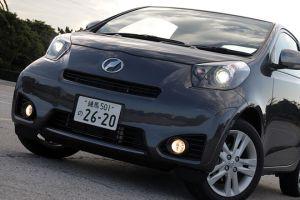 Обзор Toyota iQ в спортивной модификации GO