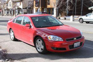 Калифорния на Chevrolet Impala (26-30.11.2009)