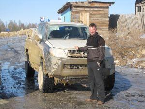 Перегон нового Toyota Hilux Pick Up из Владивостока в Билибино (Чукотский АО)
