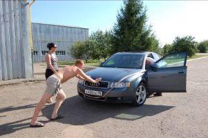 Санкт-Петербург—Ялта—Евпатория на Honda Odyssey и Audi A4