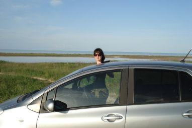 Небольшая майская поездка в Крым на Toyota Vitz