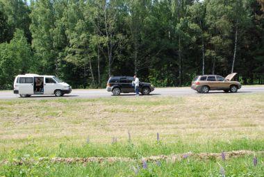Путешествие-перегон VW Transporter и двух кроссоверов по маршуруту Минск—Братск