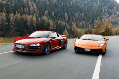 Сравнительный тест: Audi R8GT, Lamborghini Gallardo и Porsche 911Turbo