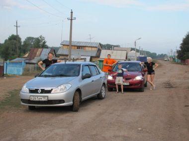 Уфа — Ейск на Renault Symbol и Mitsubishi Lancer