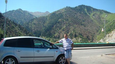 Путешествие из Стрежевого в Казахстан (Капчагай) на Ford C-Max
