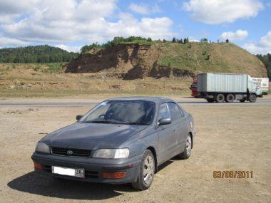 Из Рудногорска (Иркутская обл.) на Черное море на Toyota Corona