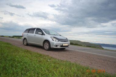 Встреча с Хакасией (часть II): через Красноярск на Toyota Wish
