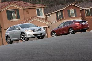 Сравнительный тест: Honda Crosstour против Toyota Venza