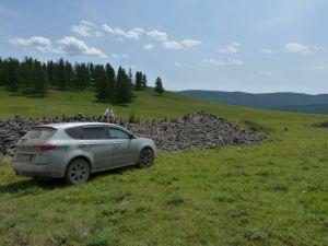 Фотоотчет о поездке в Горный Алтай из Красноярска на Subaru B9 Tribeca