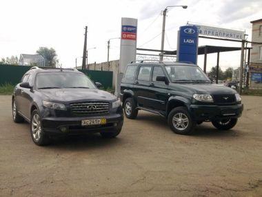 Путешествие-перегон на Infiniti FX35 и УАЗ-Патриот. Из Москвы в Якутск!