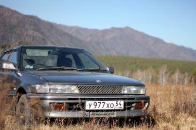 Из Новосибирска на Алтай на Toyota Sprinter и Honda Fit в октябре