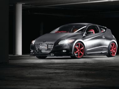 Тюнинг Honda CR-Z. Винил Wraptivo, работа Meguiars