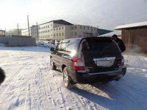 Перегон Toyota Kluger Hybrid из Иркутска во Владивосток