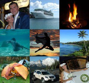 Ocean2Ocean: Кругосветное свадебное путешествие (65 500 км за 92 дня)