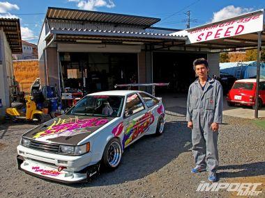 Тюнинг Toyota Corolla Levin GT 1985года. Бодрый старичок