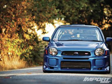Тюнинг Subaru Impreza WRX 2002. Автодидакт