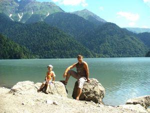Поездка на Чёрное море (2009 год). Новосибирск — Крым — Краснодарский край — Абхазия